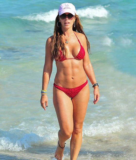 Cristy Rice – Bikini Candids in South Beach