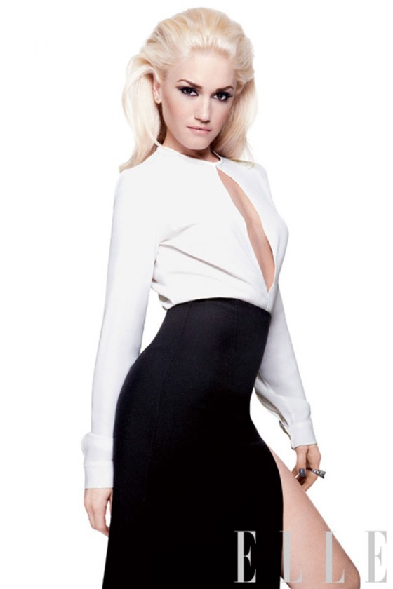 Gwen Stefani Covers 'Elle' May 2011