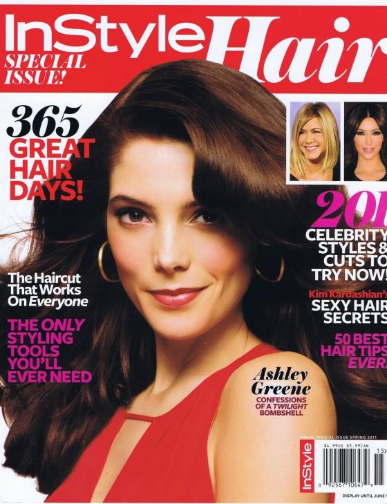 Ashley Greene – InStyle Hair Magazine (Spring 2011)