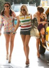 The Saturdays – Leggy Candids in Dance Studio