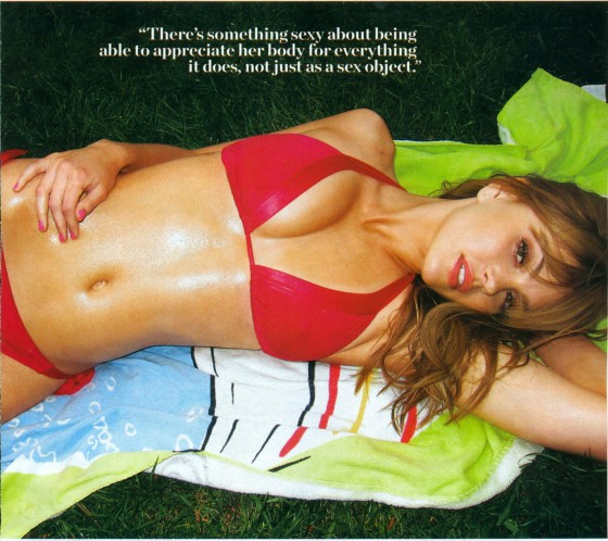 Aimee Teegarden in a bikini – Mens Health (June 2011)