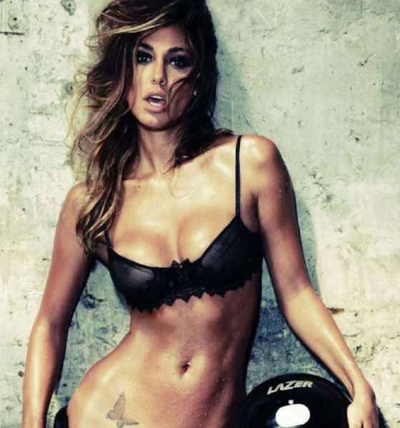 Belen Rodriguez Makes Her Own Case for World's Sexiest in DT Magazine Pictorial