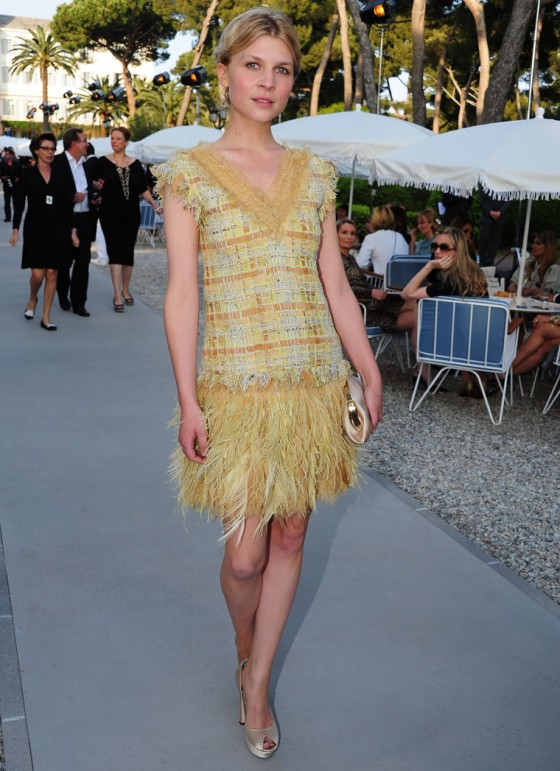 Clemence Poesy at Chanel 'Collection Croisiere' Show