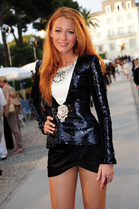 Blake Lively at Chanel 'Collection Croisiere' Show