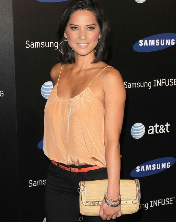 Olivia Munn - Samsung Infuse 4G For AT&T Launch Event
