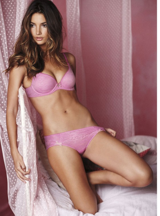 Lily Aldridge - Victoria's Secret Valentine's Day 2011 Lookbook