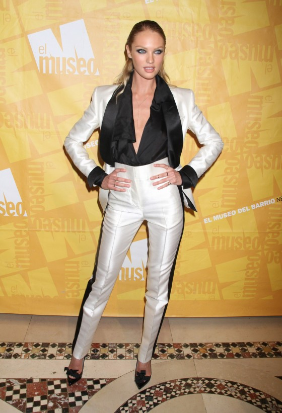 Candice Swanepoel at The Muse Of Bario Gala in NY