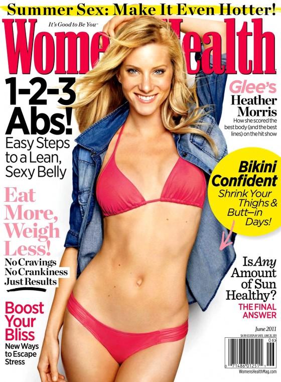 Heather Morris – Women's Health Magazine (June 2011)