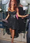 Amy Childs Celebrating Her 20th b'day in London