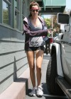 Ashley Tisdale – Leggy Candids Leaving Hugo's Restaurant in Studio City