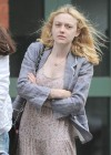 Dakota Fanning in New York City