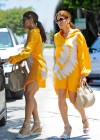 Eva Mendes Looks hot in a Yellow Dress June 20