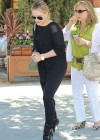 Hilary Duff in Tight Jeans out to lunch in Beverly Hills