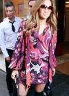 Jennifer Lopez Outside Kiss FM in London