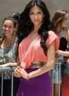 Nicole Scherzinger At The University Of Miami For The X-Factor Auditions