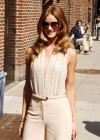 Rosie Huntington-Whiteley headed to Ed Sullivan Theater in NY