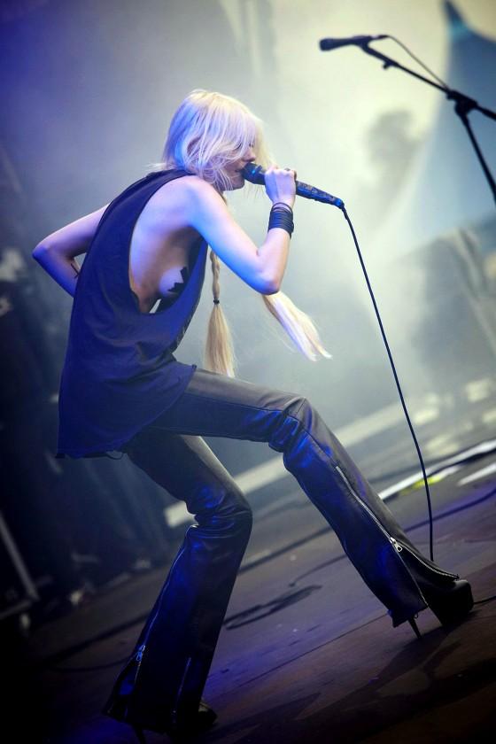 Taylor Momsen Performance At Download Festival 2011 At Donington Park