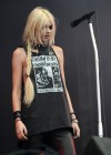 Taylor Momsen Performance At Download Festival 2011 At Donington Park