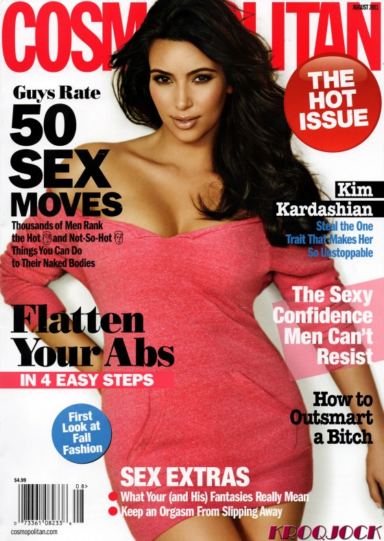 Kim Kardashian - Cosmopolitan Magazine August 2011 Issue