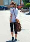 Olivia Wilde - Tight Spandex Workout Candids in La