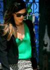 Rachel Bilson - Bleck Bra Candids in Los Angeles