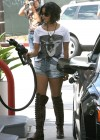 Vanessa Hudgens - Denim Shorts Candids
