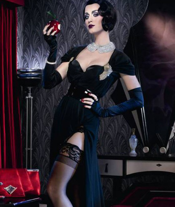 First Look: Katy Perry is a 1920′s Glamour Girl for ghd's Scarlett Collection