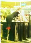 Selena Gomez - Tights Black Spandex Candids at West Edmonton Mall
