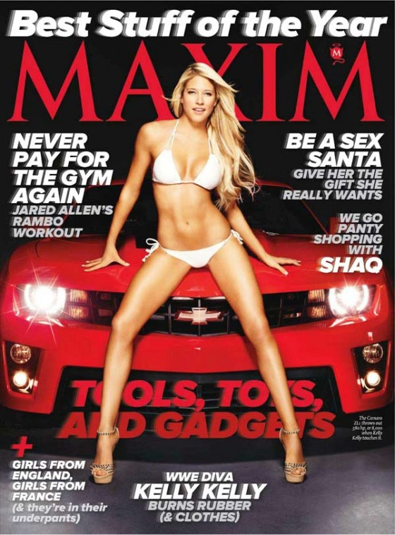Kelly Kelly - Hot in a Bikini for Maxim Magazine US