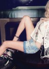Lindsay Lohan showing her legs in shorts for Jag Jeans