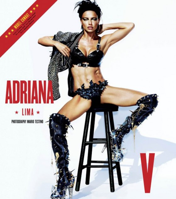 Adriana Lima hot for V Magazine V76 The Sports Issue