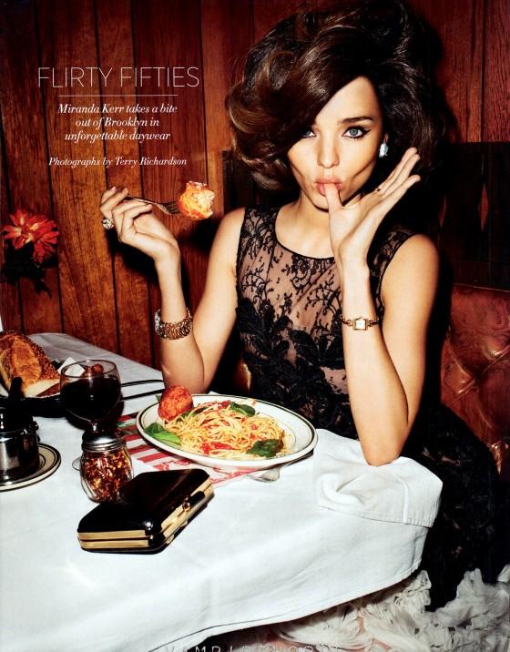 Miranda Kerr in Harper's Bazaar Us Magazine (April 2012)