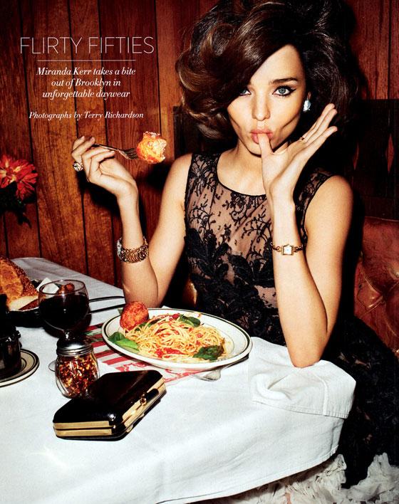 Miranda Kerr for Harpers Bazaar 2012