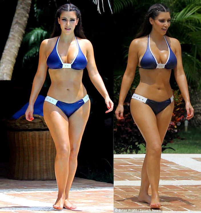 Kim Kardashian Bikini In Dominican Republic Gotceleb