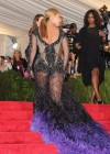 Beyonce in hot see-through dress at 2012 Metropolitan Museum of Art Costume Gala NYC