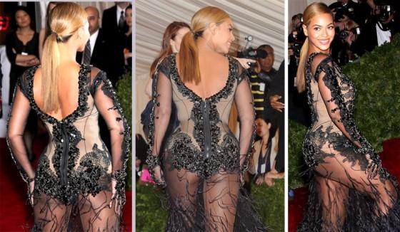 Beyonce in hot see-through dress at 2012 Met Art Museum of Art Costume Gala NYC