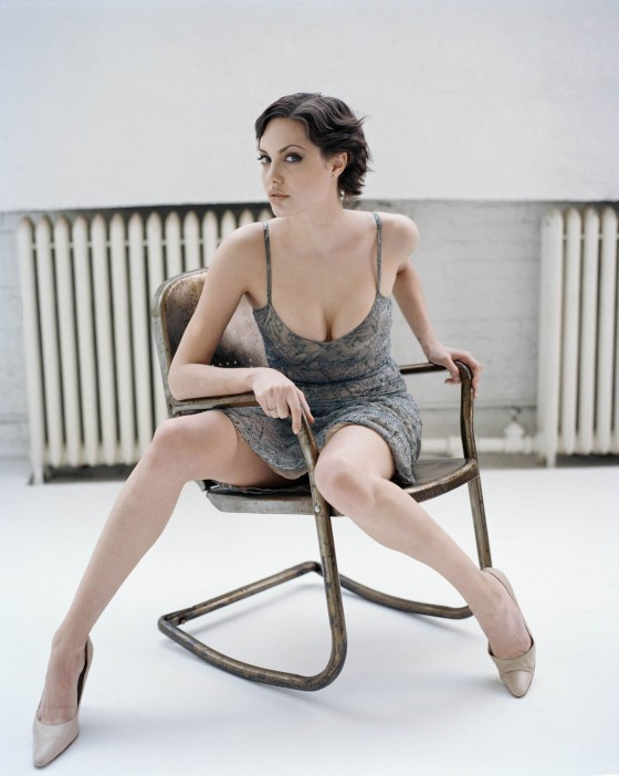 Angelina Jolie HOTTEST photoshoot photos