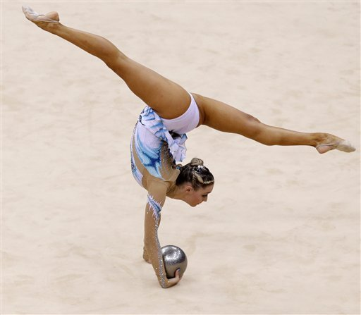 Hot Rhythmic Gymnastics Photos
