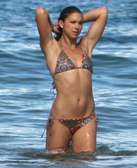 Alex Morgan Shows Her Soccer Bikini Body in Hawaii