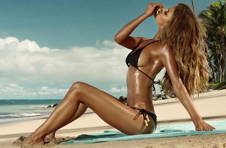 Nina Agdal – Carl's Jr Bikini Photoshoot