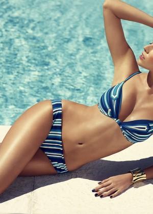Maryna-Linchuk-Chantelle-Swimwear-Campaign-2014-6