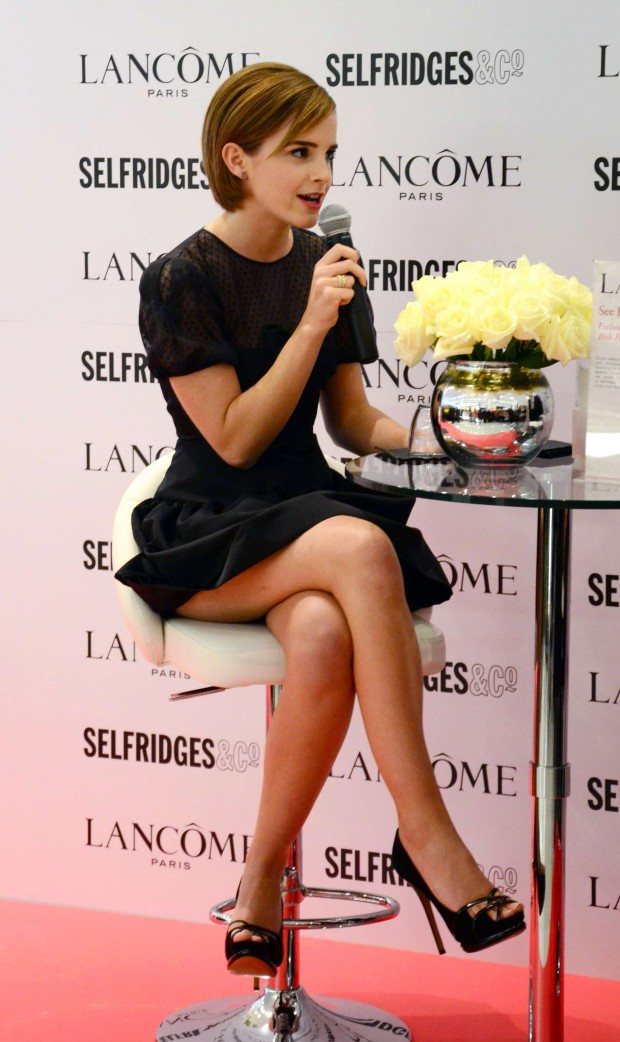 Emma-Watson-Hot-at-Selfridges-2015-08-62
