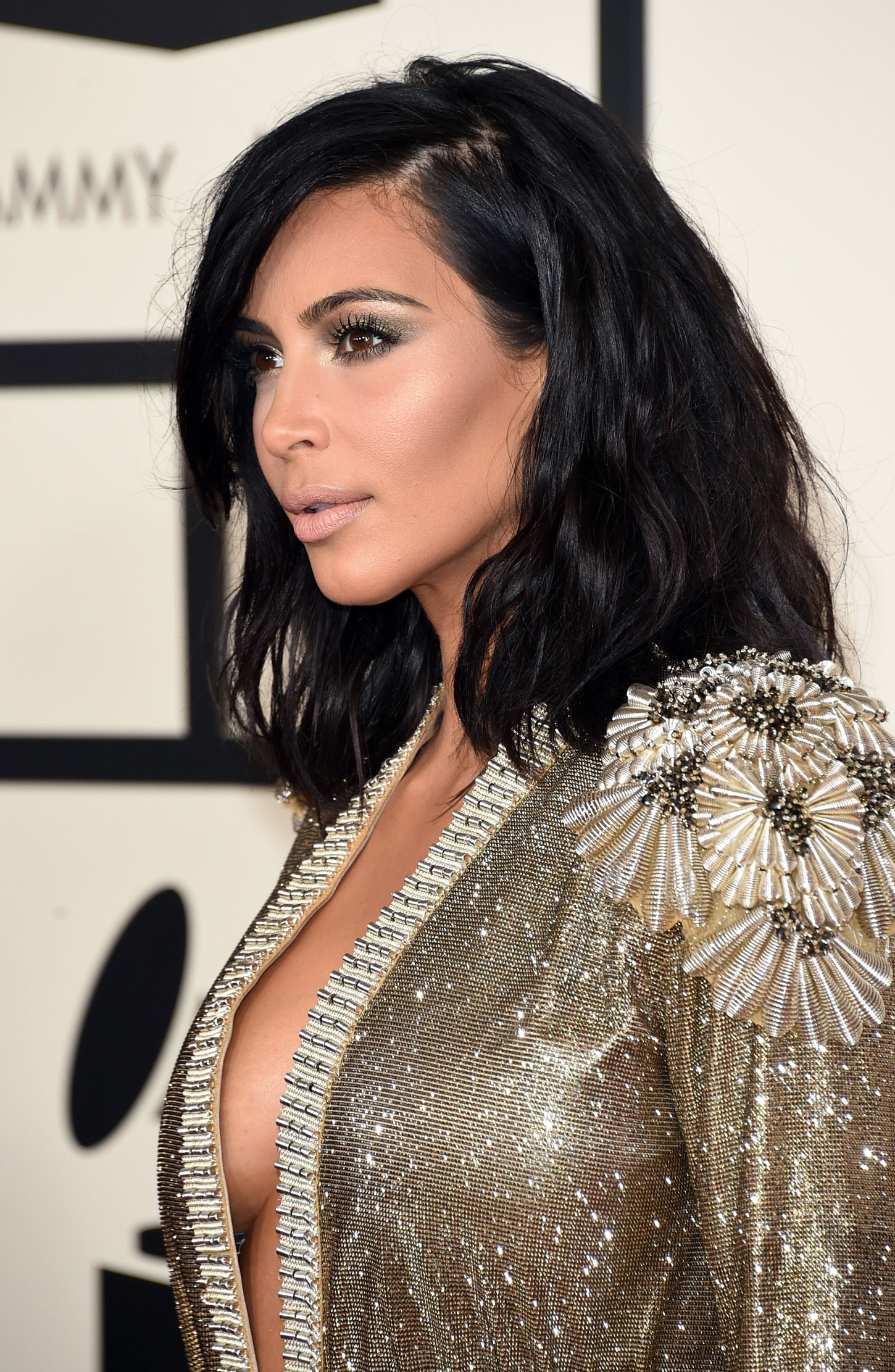 Kim Kardashian – 57th Annual GRAMMY Awards in Los Angeles