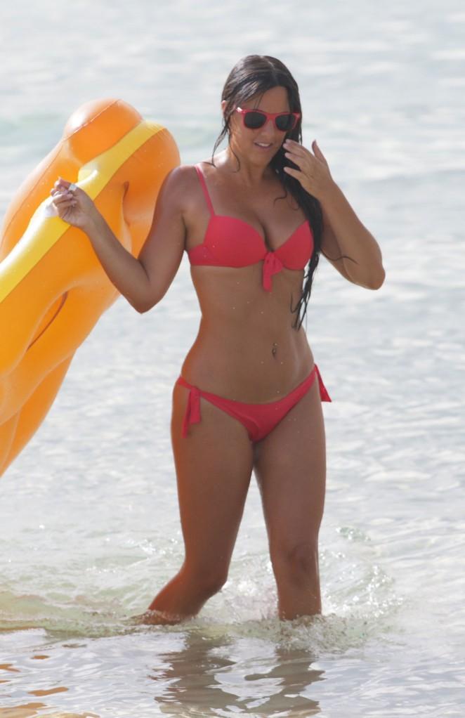 Claudia Romani – Bikini Candids in Miami Beach