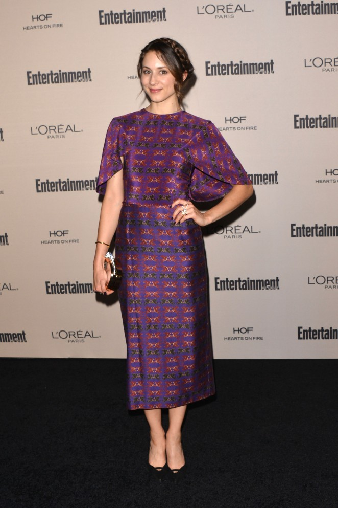 Troian Bellisario – 2015 Entertainment Weekly Pre-Emmy Party in West Hollywood