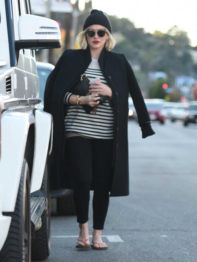 Hilary Duff Shopping in LA