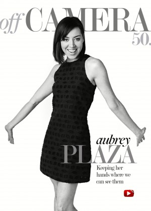 Aubrey Plaza - Off Camera1