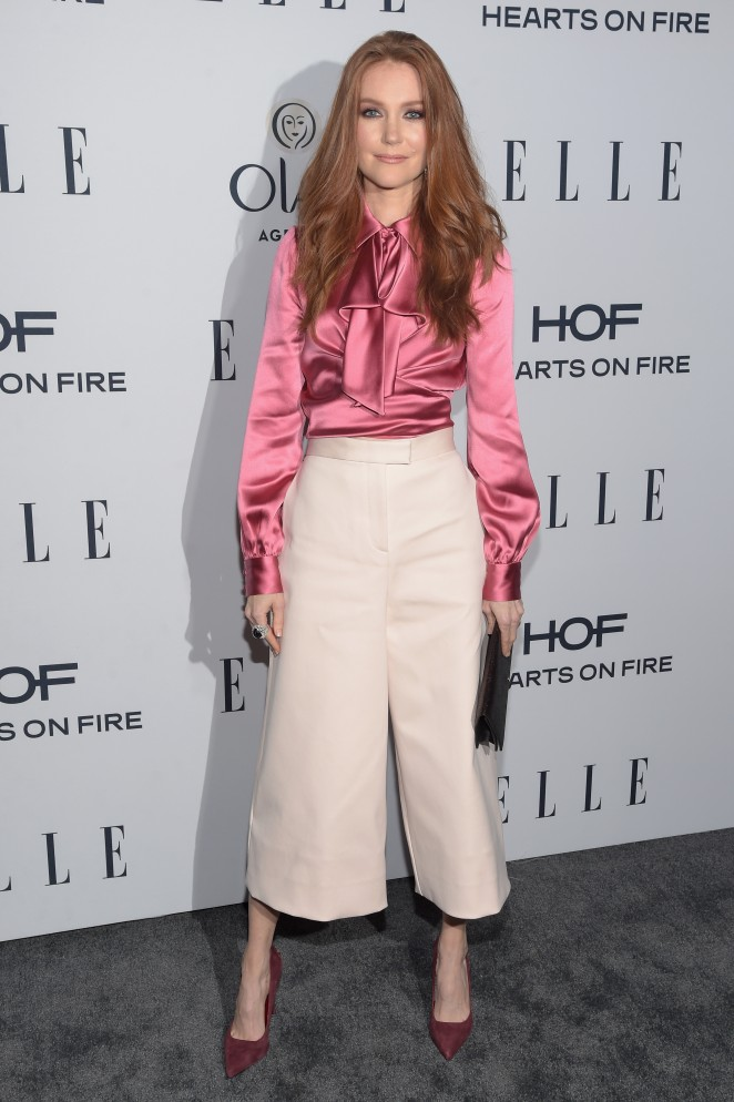Darby Stanchfield – ELLE's 6th Annual Women in Television Celebration in Los Angeles