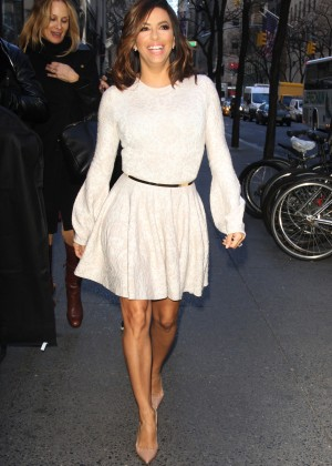 Eva Longoria in Mini Dress1