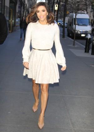 Eva Longoria in Mini Dress3